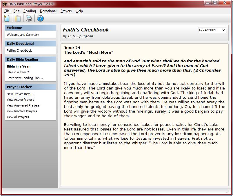 Faith's Checkbook Daily Devotional by C  H  Spurgeon